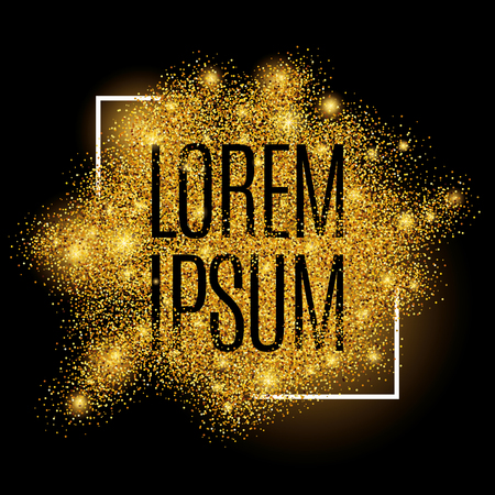 Gold background for  poster, shopping, for sale sign, discount, marketing, selling, web, header. Abstract golden background for text, type, quote. Gold blur background  イラスト・ベクター素材