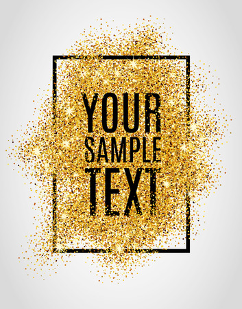 Gold background for  poster, shopping, for sale sign, discount marketing, selling , web header. Abstract golden background for text, type, quote. Gold blur background