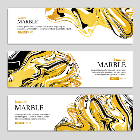 paint splash: Marble texture banner. Abstract pattern for banner. Marble gold background, banners. Gold marble. Gold background. Banners for web, card, vip exclusive certificate, gift luxury voucher.
