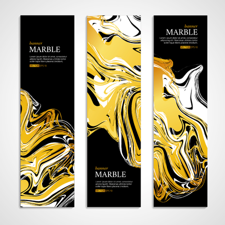 marble background: Marble texture banner. Illustration