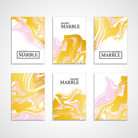 Marble texture banner. Abstract vector pattern for banner.  イラスト・ベクター素材