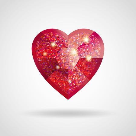 glamor: Valentines day card.