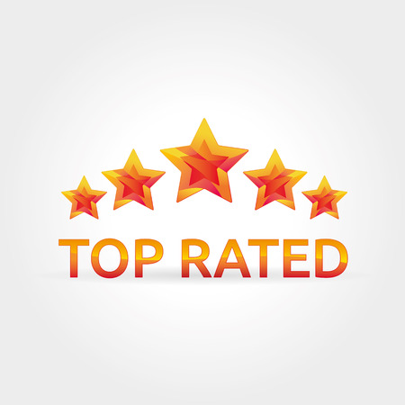 energy ranking: Five gold shine stars top ranking Illustration
