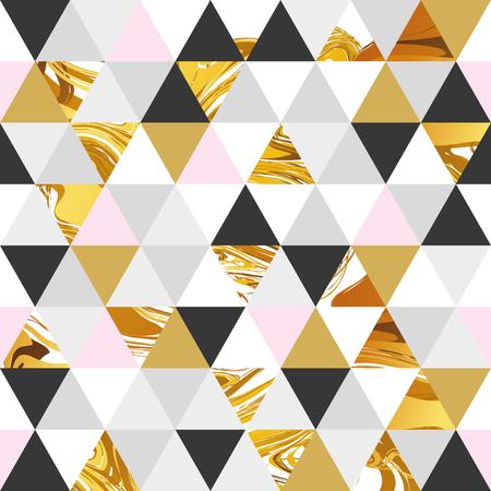 marmo geometrico oro modello seamless