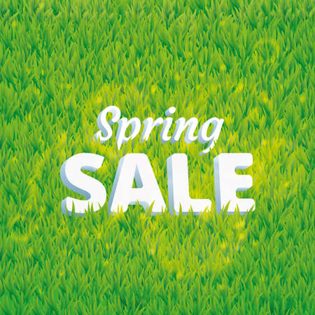 mowing the grass: Super sale spring green grass background