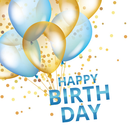 Ballonnen happy birthday