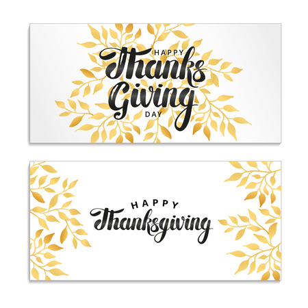 Happy thanksgiving day card.