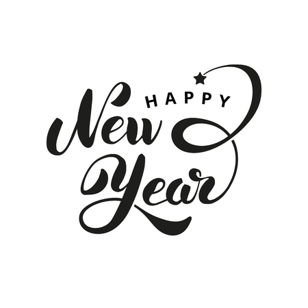 Happy New Year star Logo