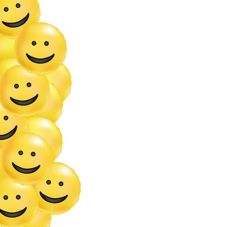 Smile yellow comic background 版權商用圖片