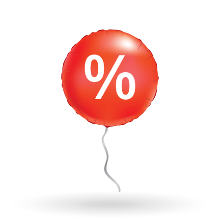 Red sale balloons