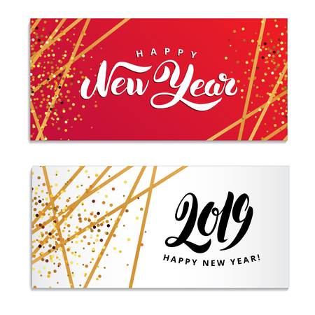 New year design template Foto de archivo - 111751083