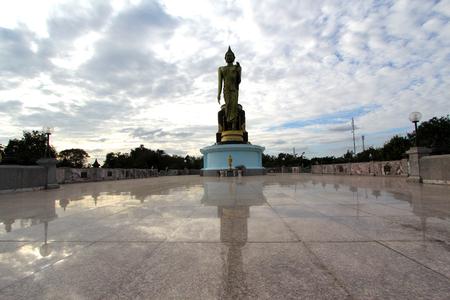 Buddha Monthon model at Wat tasao. Stock Photo