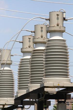 isolator insulator: Electricity, electric equipmen Stock Photo