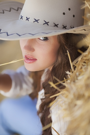 Sexy cowgirl Stock Photo - 15916763
