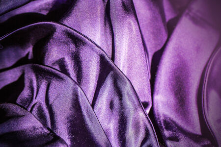fabric violet background Stock Photo