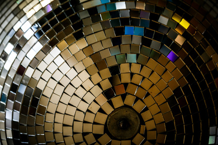 Disco Mirror sphere. Disco Mirror ball as a sphere clean with no disturbing reflections