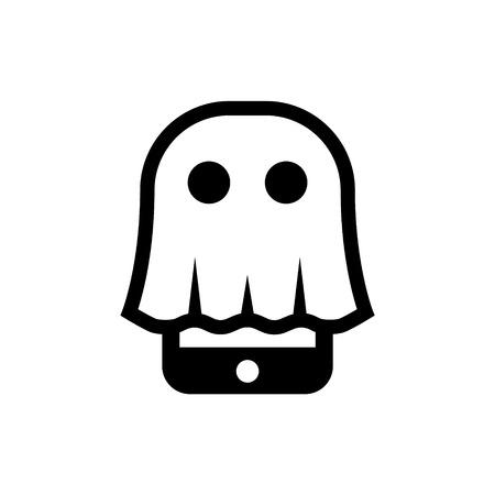 Ghost phone Illustration