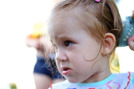 portrait of the child Stock Photo
