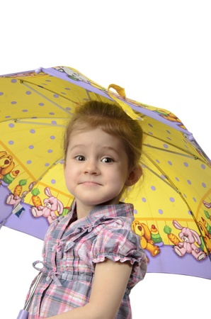 the girl with an umbrella studio