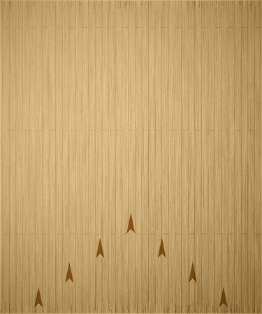 Illustartion of bowling realistic theme  Editable vector Vettoriali