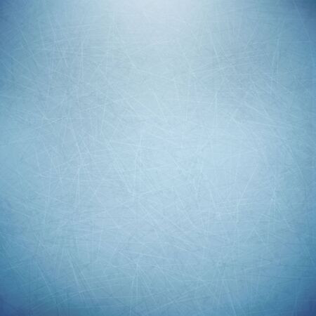 Illustartion of blue ice texture hockey cold