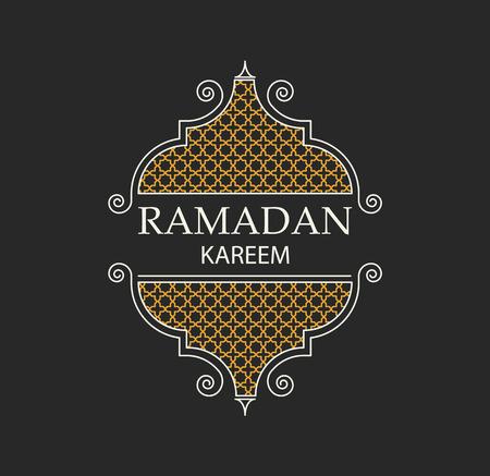 Illustartion of ramadan kareem background religion holiaday Illustration