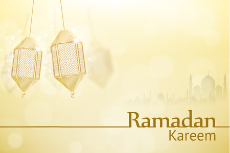 Illustartion of ramadan kareem background religion holiaday Illustration