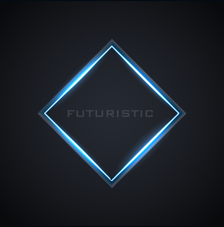 Illustartion of futuristic glowing background vector illustration 일러스트