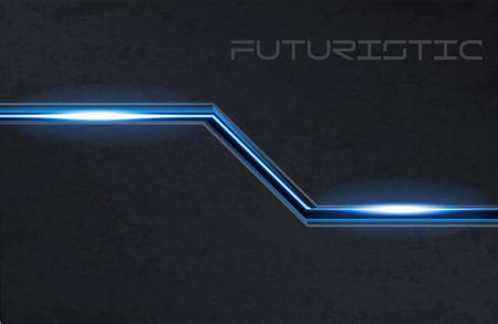 a touch: Illustartion of futuristic glowing background vector illustration Illustration