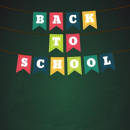 intermediate: Illustartion of Back to school theme objects Illustration