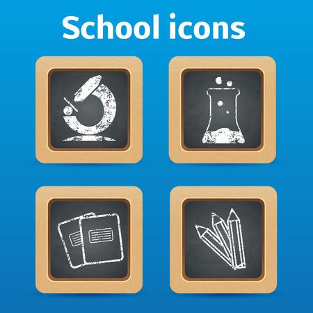 illustartion: Illustartion of Back to school theme objects Illustration