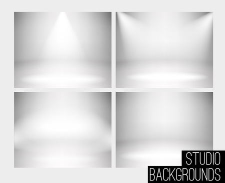studio photography: Illustartion of Studio backdrop eps 10 soft light