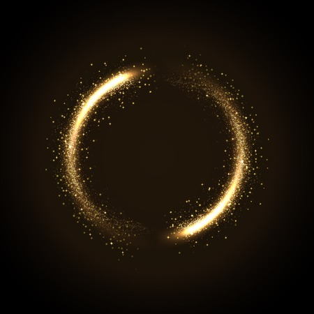 Illustratie van gloeiende stof van glinsterende stras Stockfoto - 51106354