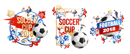 football background place for text 2018 icons    lines flowers Ilustração