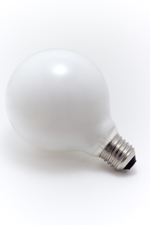 Light Bulb isolated on white Stock Photo - 1424791