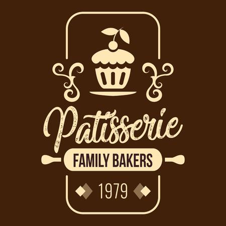 Bakery Patisserie Family Bakers 1979 Vector