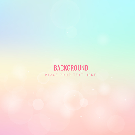 Abstract Colorful Blur Pink Background Vector Image