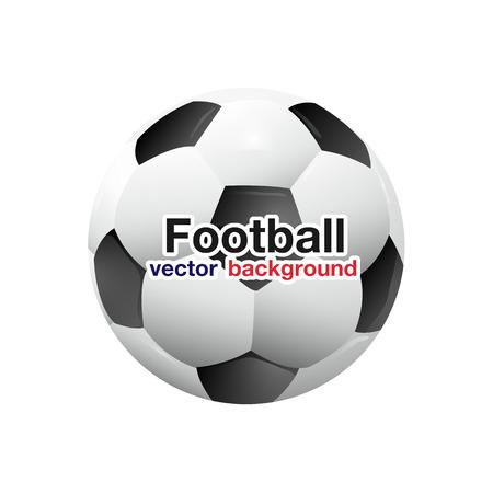 Football Soccer Ball Planet Space Background Ilustração