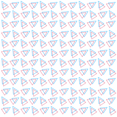 Abstract Overlap Triangle Pattern Background Vector Image Illustration