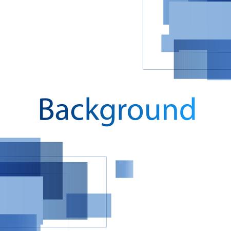 Modern Blue White Design Background Vector Image