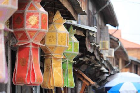 colorfull: colorfull Vintage thai Stock Photo