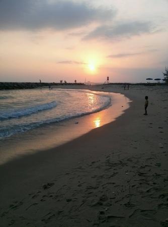 rayong: sun set ,Rayong Thailand