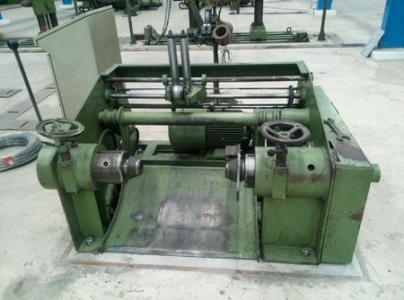 industrial: machine control manufacture Stock Photo