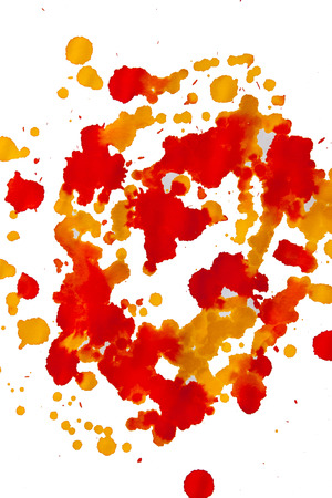 taint: abstract watercolor color painting watercolour on background Stock Photo