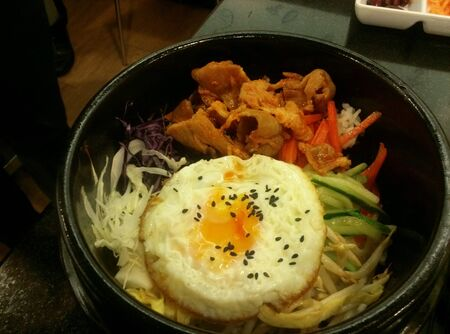 style: korean food style Stock Photo