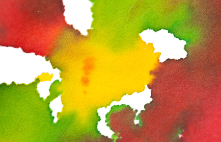smirch: abstract watercolor color painting watercolour on background Stock Photo
