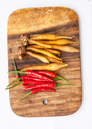 bush pepper: Thai Tom Yam soup herbs and spices