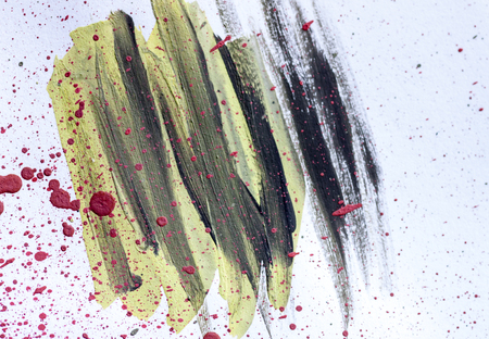 abstract watercolor color painting watercolour on background Stock Photo