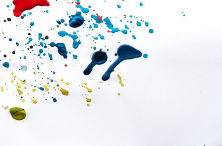 slur: abstract watercolor color painting watercolour on background Stock Photo