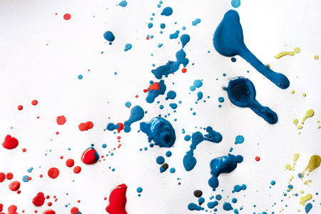 grizzle tint: abstract watercolor color painting watercolour on background Stock Photo